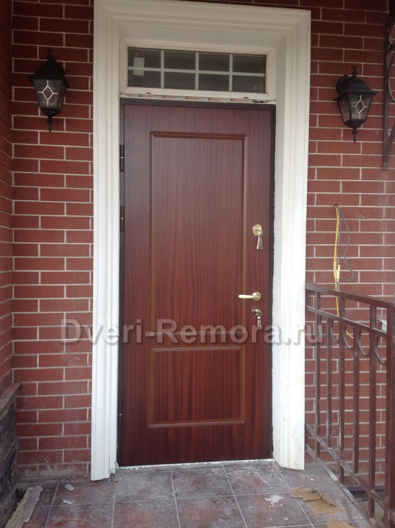 купить дверь уличную входную металлическую в нахабино