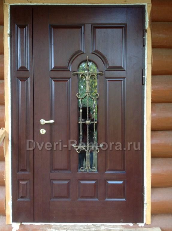 входные двери для бревенчатого дома