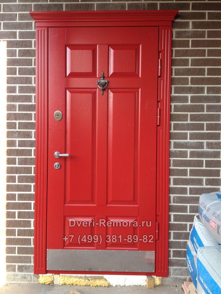 Металлическая дверь с отделкой МДФ