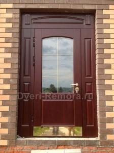 Двери с стеклопакетами