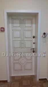 Красивые двери с МДФ панелями